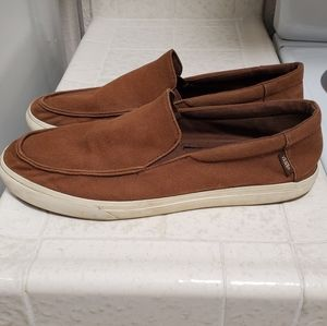 Vans Slip On Good Used Condition Size 12 Brown